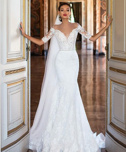tendencias en vestidos de novia 2017