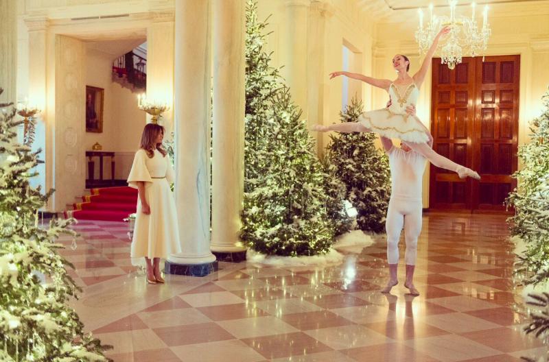 La impresionante decoración navideña de la Casa Blanca - Saltillo360