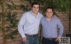 Alejandro Palacios Maycotte y Adolfo Quijano Aguirre festejaron su cumpleaños.
