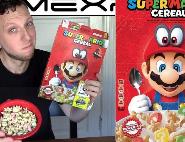 El Super Mario Cereal ya disponible en México