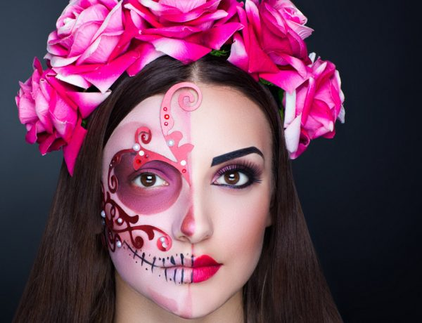 Aterradoras ideas de maquillaje para Halloween