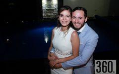 Alexa Lorena Martínez Rodríguez y Enrique Castro de Regil celebraron en la torna boda su enlace civil en la residencia de Marifer Lara.