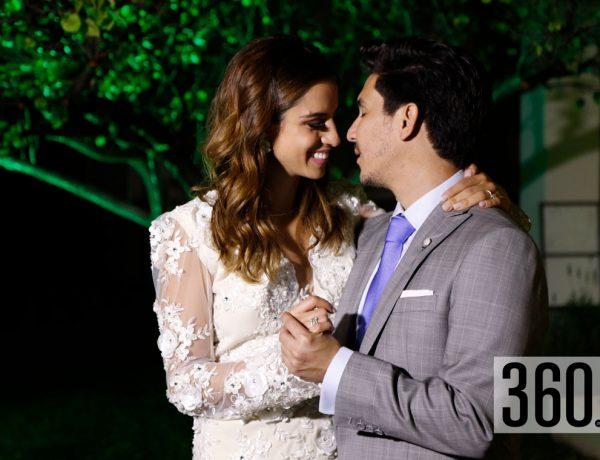 Antonio Domínguez y Ana Carolina Dávila.