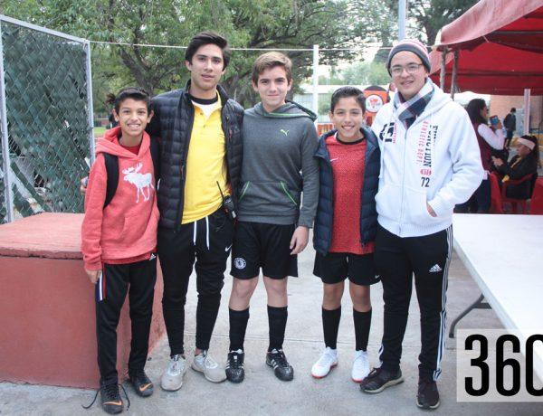 Eugenio Fuentes, Jaime Arguelles, Genaro Montemayor, Salvador Dracoulis y Andrés Ortiz.