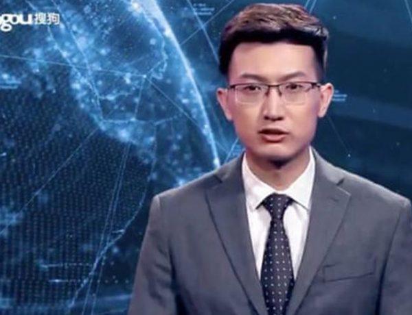 Primer presentador de noticias virtual