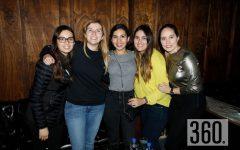 Mariza Alvares, María Cristina Saucedo, Fernanda Arechiga, Rosy Arizpe y Marimar Arroyo.