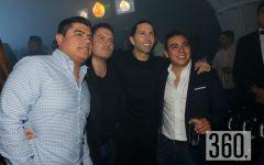 Sergio, Luis Cortes, Poncho De Nigris y Mariano Flores.