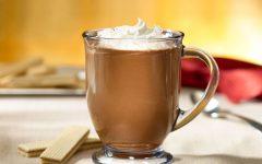 Bebe más chocolate caliente