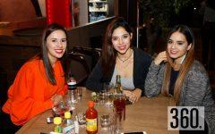 Raquel Romero, Nicthe Tecuadl y Ana Ramirez.