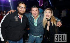 Luis Ramos, Erick Gómez y Fabiola Torres.