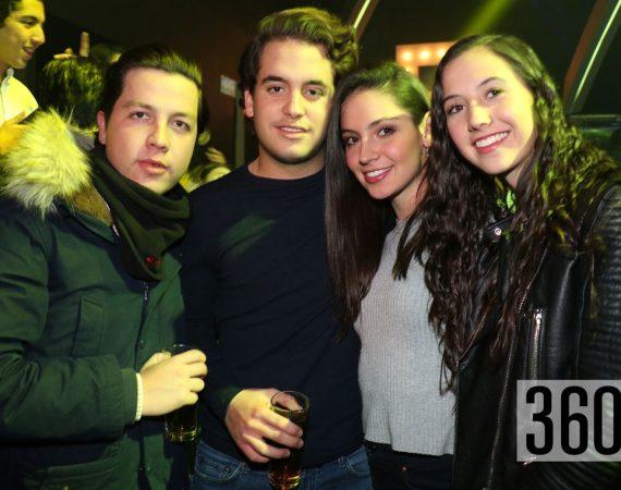 Marcelo Ruiz, Gerardo Strozzi, Ángela García y Mariana Garza.