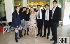 Marifer Villarreal, Mariana Zamora, Natalia Cárdenas, Sofí Elizondo, Diego Arellano, Jorge Chacón y Leonardo Gámez.