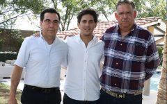 1. Antonio Domínguez, Antonio Domínguez y Ramiro Dávila.