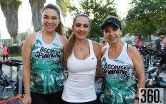 Adriadna Aguado, Luly Morales y Betty Valdés.