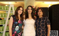 Anabel Gutiérrez con Anabel López y María Elena del Bosque