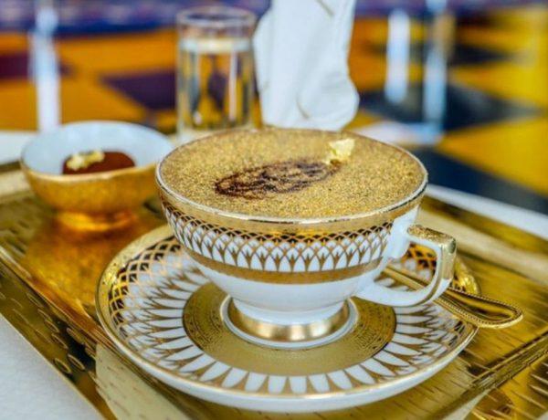 ¿Cuánto cuesta probar el nuevo café capuchino con oro de 24 quilates?