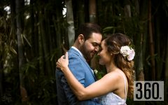 """Toño de Hoyos y Carmen Miñón Rojas unieron sus vidas en matrimonio en la Hacienda """"El Carmen""""."""