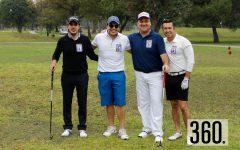 Gilberto Martínez, Carlos Cárdenas, Marco Tulio Chapa y Luis Eduardo Valdés.