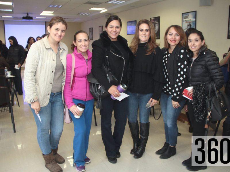 Ceci Blanco, Lili Zamora, Nicte Velásquez, Dolores Cárdenas, Lizet Cubillas y Ceci Valdés.