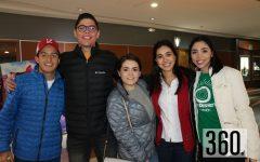 Rodrigo Valdés, Jorge Ruiz, Diana Ortiz, María José Reyes y Sofía García.