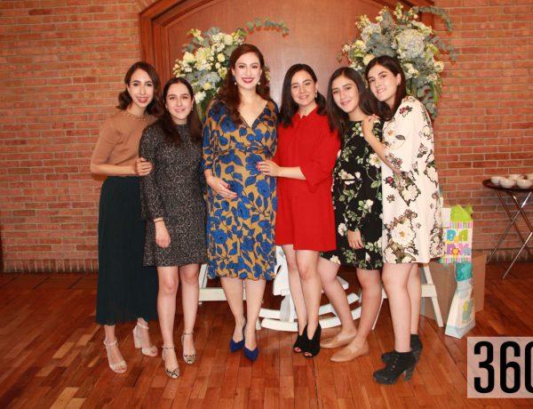 Mariángela Martínez, Natalia Borrego, Alejandra Martínez, Ana Martínez, Verónica Borrego y Ana Paula Borrego.