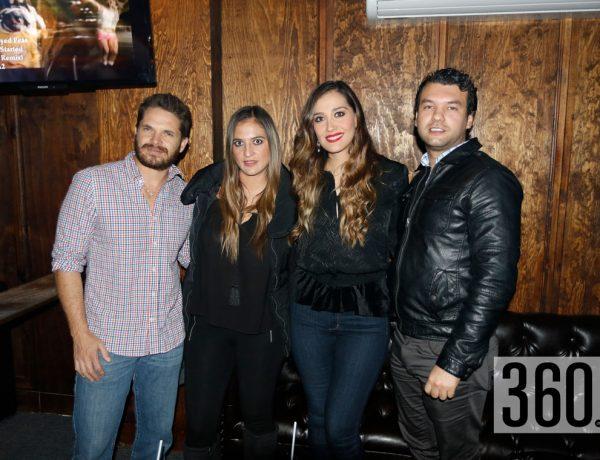 Javier Aldrete, Erika Hernández y Álvaro Arzamendi.