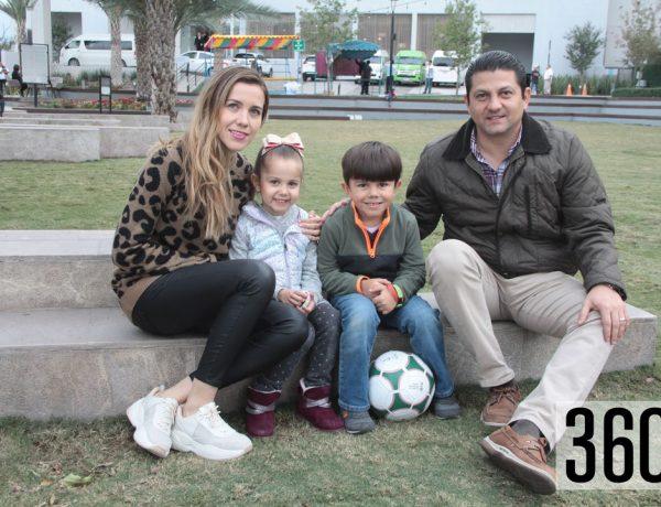 Familia Villarreal Saucedo.