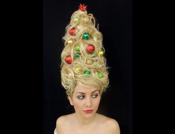 Si amas estas fiestas, entonces este peinado es perfecto para ti