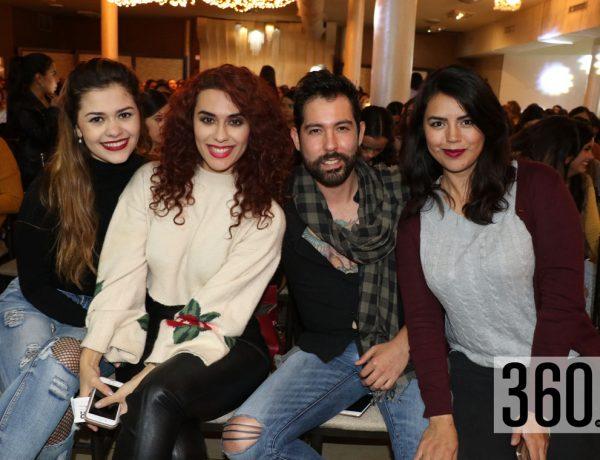 Mariana Melo, Karen Avendaño, Nelson Espinoza y Diana Villar.