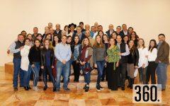 Alumnos del Instituto Cumbres de Saltillo iniciaron con esta tradición decembrina