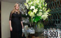 Anne Sañudo de Torres espera el nacimiento de sus hijos para la primera semana del mes de enero próximo.