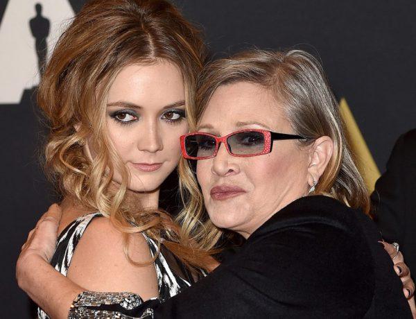 La actriz falleció hace dos años a causa de un infarto; su madre, Debbie Reynolds falleció un día después