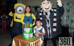 """Armando Villaseñor Guerra con una fantástica fiesta al estilo del """"Lobo"""" celebró su quinto aniversario."""