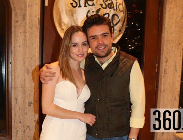María José Arrollo y Gerardo Valdés