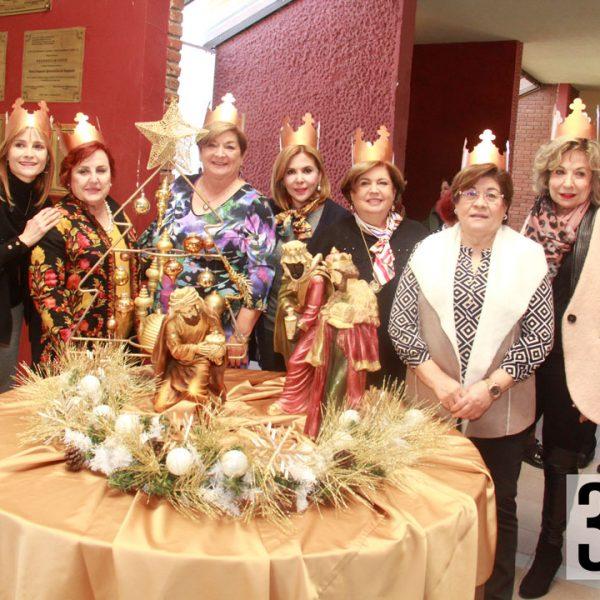 Las integrantes del club de jardinería Azalea fueron las anfitrionas en la quinta asamblea del mes de enero.