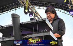 El líder de grupo Toppaz tuvo un accidente automovilístico en la carretera de Montemorelos, Nuevo León