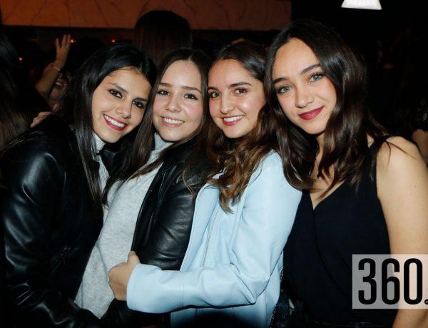 Ale Rodríguez, Adriana Saucedo, Andrea Dávila y Maribel Treviño.