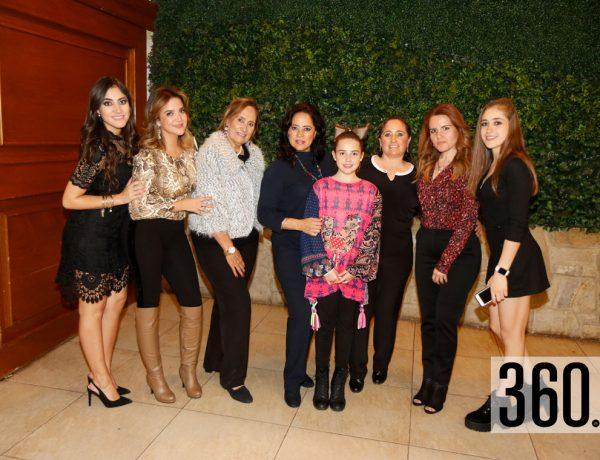 Rosa Claudia Siller y Rosa Claudia Rodríguez celebraron juntas su cumpleaños con una gran fiesta.