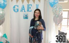 Dora Berlanga de Nares espera el nacimiento del nuevo integrante de su familia para los primeros días de febrero.