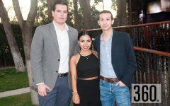 Fernando Talamas, Marcela Chapa y Donaldo Dainitin.