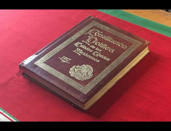Hoy se celebra la promulgación de la Constitución de 1917, que logró reorganizar el país tras la Revolución de 1910