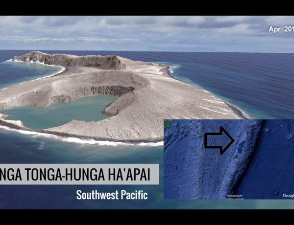 Se estimaba que la isla tuviera una vida máxima de algunos meses, pero sigue en la superficie