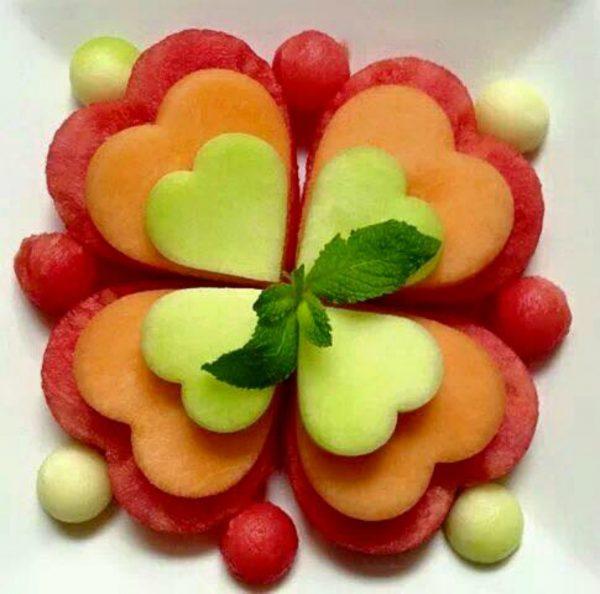 comida san valentín