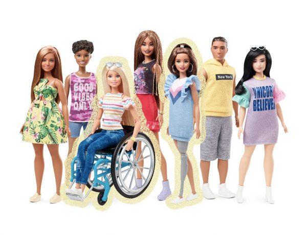 Para promover la diversidad, Barbie introducirá entre sus productos tres nuevos diseños, que llegarán en junio 2019
