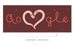 La empresa se unió a la celebración del Día del Amor y la Amistad como mejor sabe: con un doodle