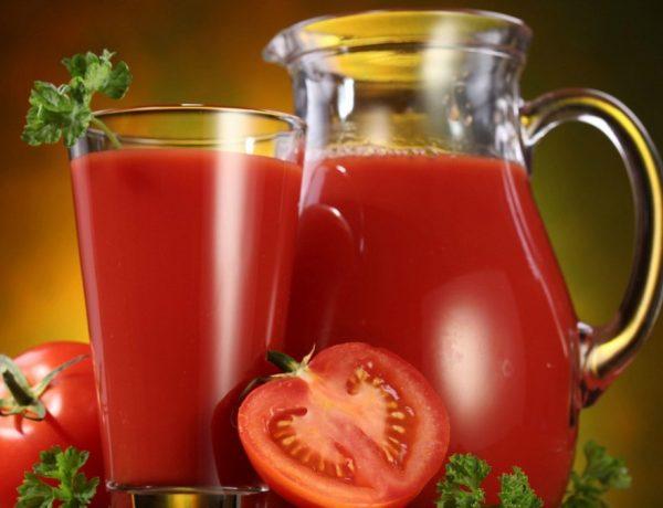 Batido de tomate y pepino