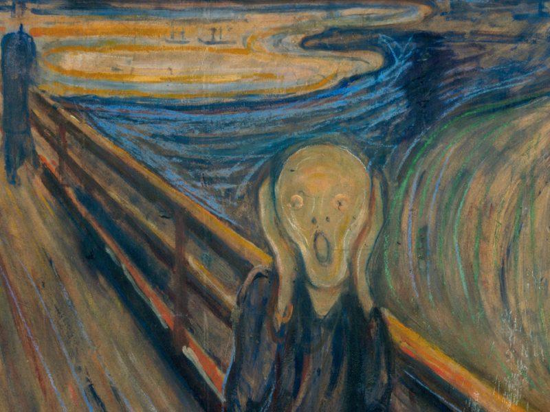 """La pintura de Edvard Munch, """"El grito"""", forma parte de la cultura popular, pero guardaba un secreto"""