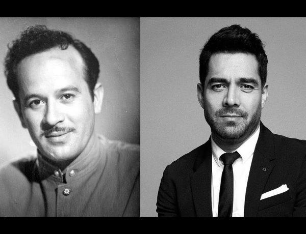 Ya circula en redes la primera imagen de Omar Chaparro caracterizado de Pedro Infante