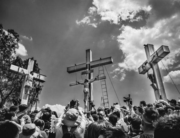 Representacion de la Pasion de Cristo en Iztapalapa