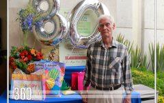 80 AÑOS ENTRE AMIGOS Y FAMILIA
